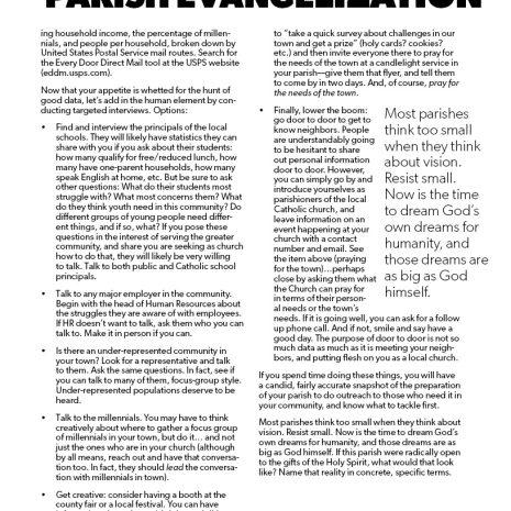 Parish Evangelization Assessment3